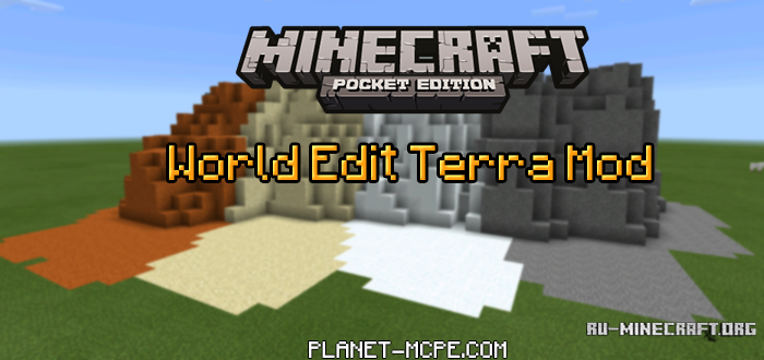 minecraft how to use world edit pe