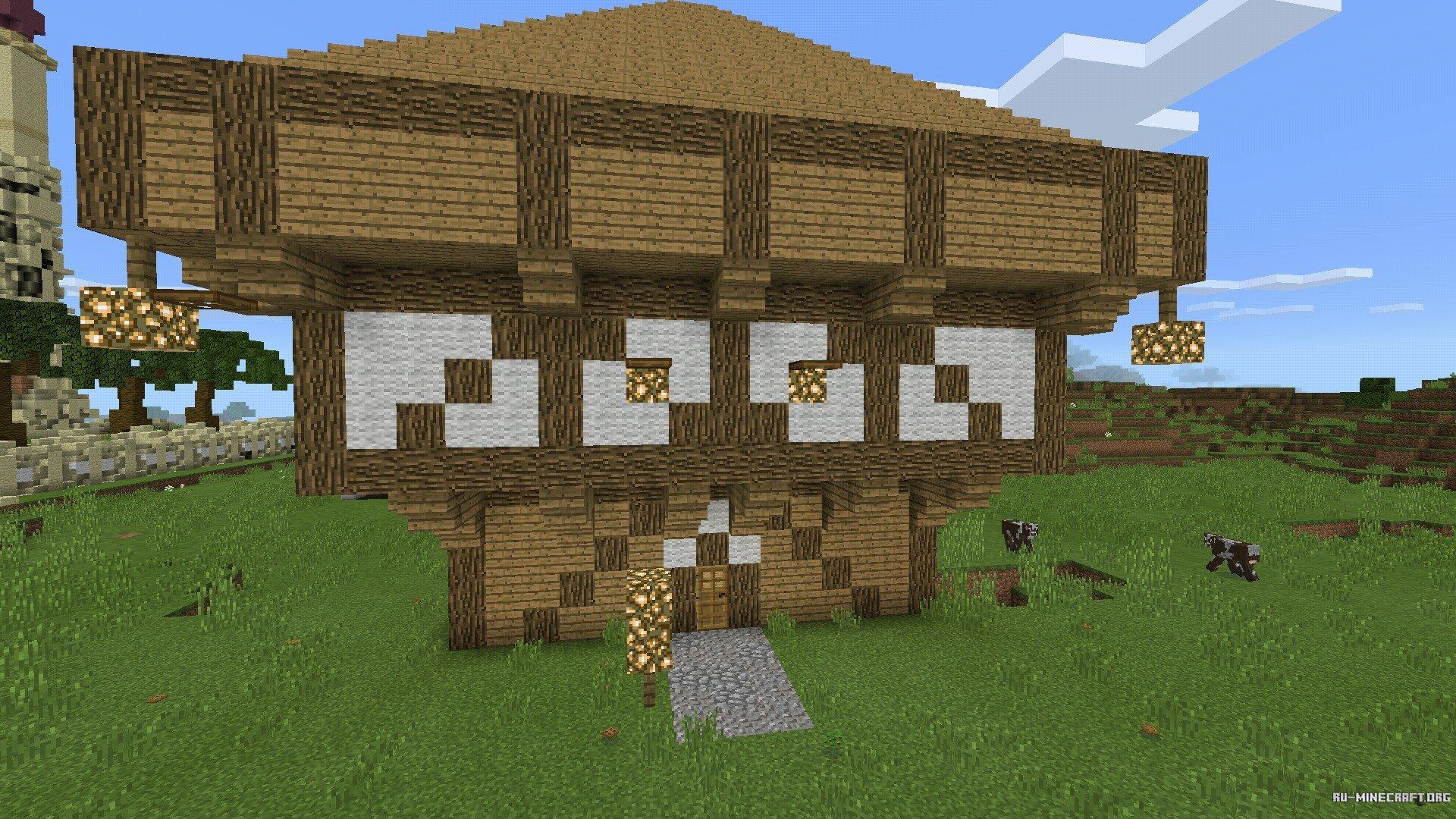 дом для майнкрафт пе 0.14.0 #11