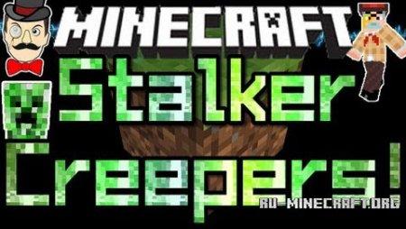 Скачать Stalker Creepers для Minecraft 1.9