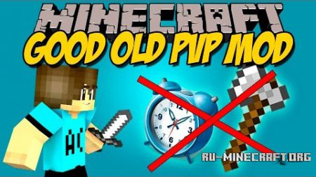 ������� Good Old PvP ��� Minecraft 1.9