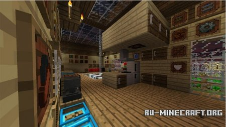Скачать Super Crafting Frame для Minecraft 1.9
