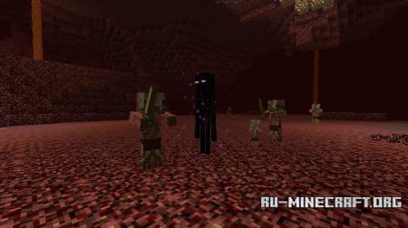 Эндермен в Аду Minecraft 1.10
