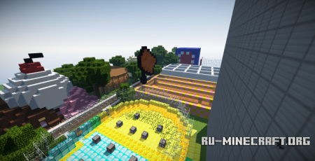 ������� The Pat 'N Jen Theme Park ��� Minecraft