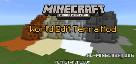 ������� World Edit Terra ��� Minecraft PE 0.14.0