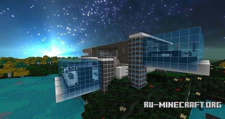 ������� Cyber Optics HD [32x] ��� Minecraft 1.8.9