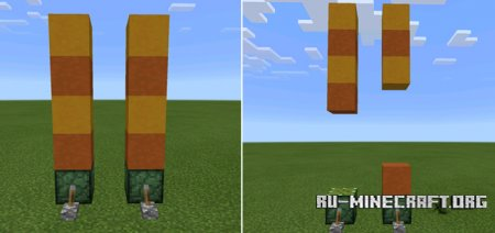 ������� More Pistons ��� Minecraft PE 0.14.0