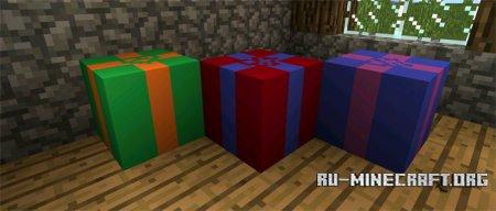 Скачать Christmas Gifts для Minecraft PE 0.13.0