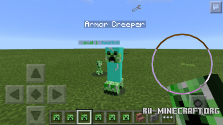 Скачать Elemental Creepers Minecraft PE 0.13.0