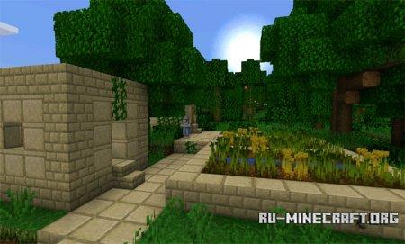 Скачать Jungle Ruins для Minecraft PE 0.14.0