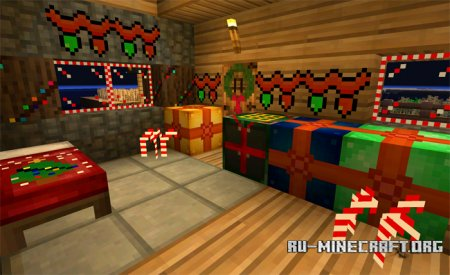 Скачать Fletchercraft Christmas для Minecraft PE 0.13.0