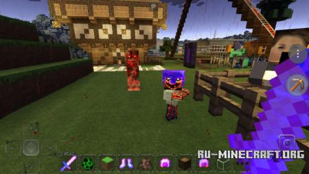 Скачать EvilCraft для Minecraft PE 0.13.0