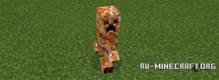 Скачать Elemental Creepers для Minecraft PE 0.14.1