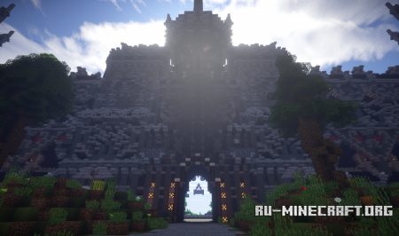 Скачать Epic Evil Themed Medieval Faction для Minecraft