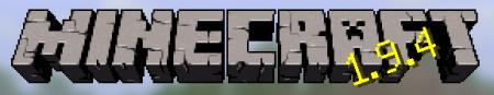 Лого Minecraft 1.9.4