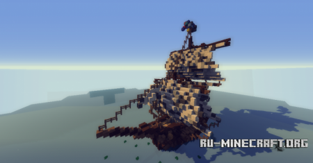 ������� Medieval Ship -Barco Medieval ��� Minecraft