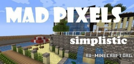 Скачать Mad Pixels [Cartoony][16x] для Minecraft 1.8.8