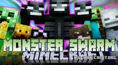 Скачать Monster Swarm для Minecraft 1.8.9