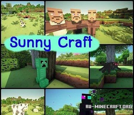 Скачать Sunny Craft [16x] для Minecraft 1.7.10