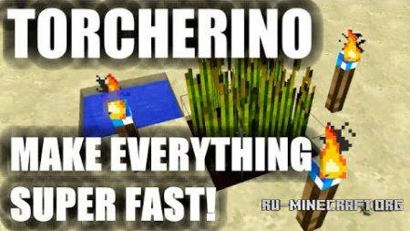 Скачать Torcherino для Minecraft 1.8.9