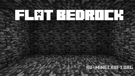 Скачать Flat Bedrock для Minecraft 1.8.9