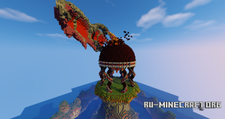 ������� Dragons Temple ��� Minecraft