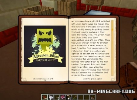 ������� Hardcore Questing ��� Minecraft 1.9