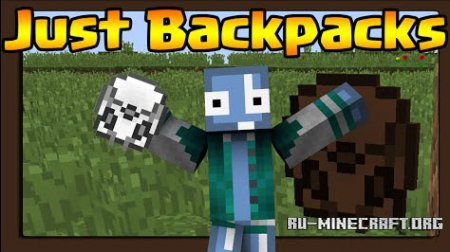 Скачать Just Backpacks для Minecraft 1.8