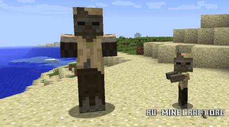 Husk в Minecraft 1.10