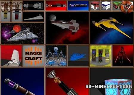 Скачать Star Wars Resourcepack [256х] для Minecraft 1.7.10