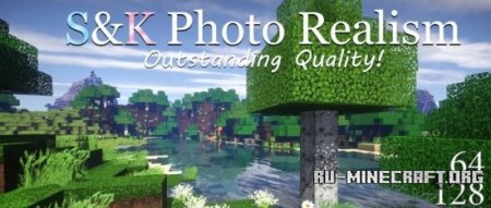 ������� S&K Photo Realism [128x] ��� Minecraft 1.8.8
