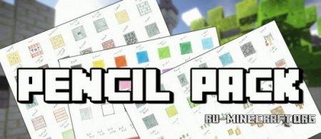 Скачать Pencil Pack [128x] для Minecraft 1.9