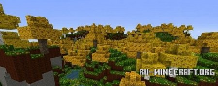 Скачать Zedercraft Autumn HD [256х] для Minecraft 1.8