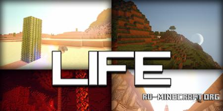 Скачать Life HD [128x] для Minecraft 1.8