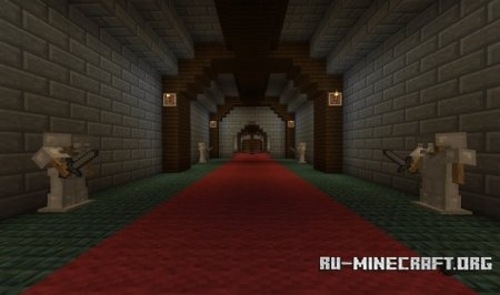 ������� Volcano Fortress ��� Minecraft