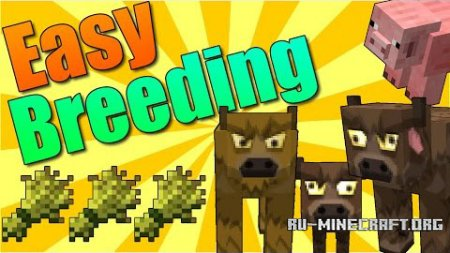 ������� Easy Breeding ��� Minecraft 1.9.4