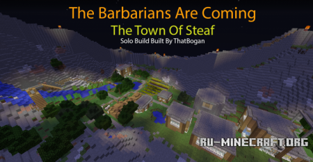 ������� The Town Of Steaf ��� Minecraft