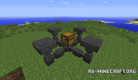 ������� Hopper Ducts ��� Minecraft 1.9.4