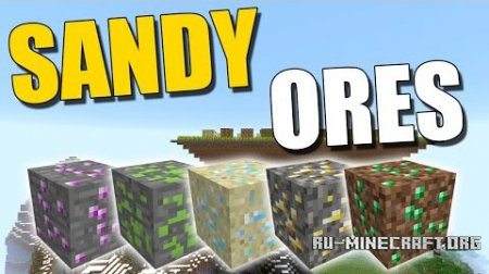 ������� Sandy Ores ��� Minecraft 1.9
