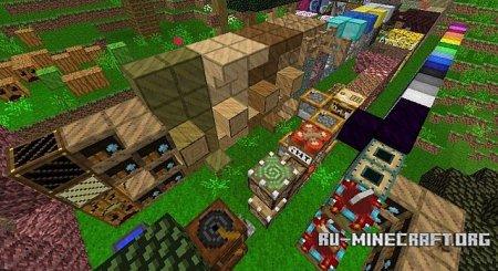Скачать Woodcraft [16x] для Minecraft 1.9