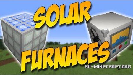 Скачать Solar Furnaces для Minecraft 1.9