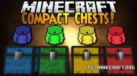 Скачать CompactChests для Minecraft 1.9