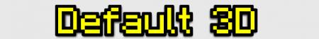 Скачать Default 3D [16x] для Minecraft 1.10