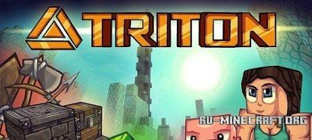 Скачать TRITON [128x] для Minecraft 1.10