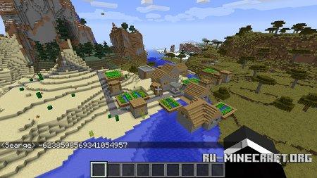 Множество биомов в Minecraft