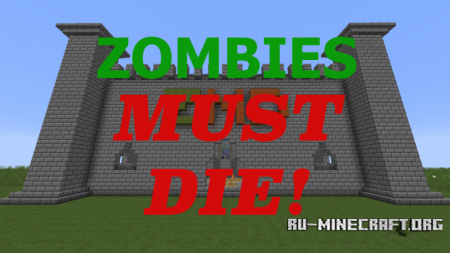 ������� Zombies Must Die II ��� Minecraft