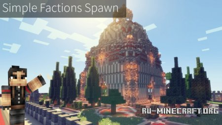 ������� Simple Factions Spawn ��� Minecraft