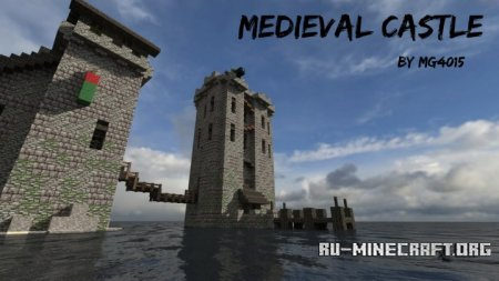 Скачать Medieval Castle on Water для Minecraft