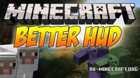 Скачать Better HUD для Minecraft 1.9