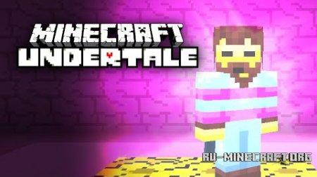 Скачать Undertale для Minecraft 1.9