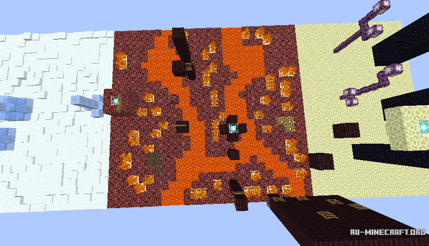 карты на minecraft гтвукефду на версию 1.9 #5